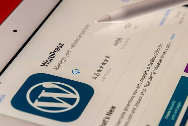 Wordpress pour la création de site internet